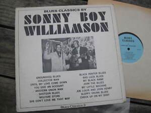 SONNY-BOY-WILLIAMSON-FRIENDS-1965-034-Blues-Classics-034-NM-16-SONG-COMPILATION-LP