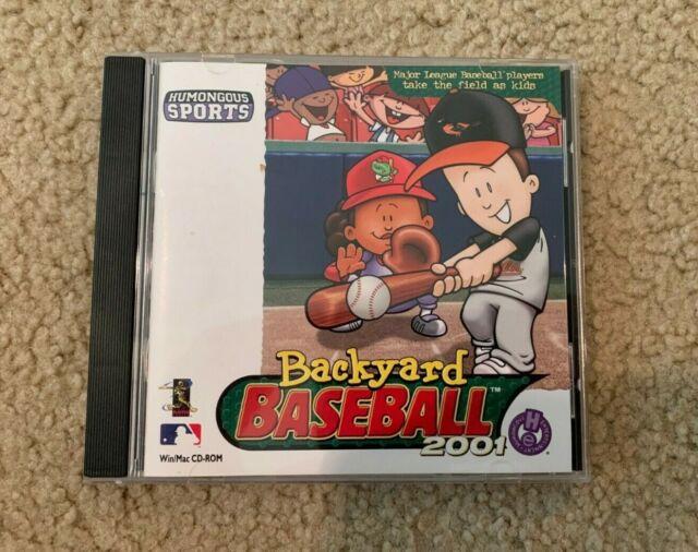 Backyard Baseball 2001 - Win/MAC CD-ROM MLB 2000 Humongous ...