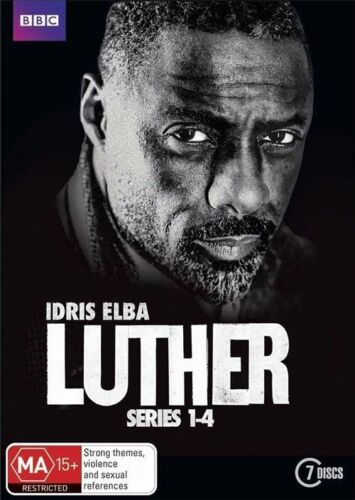 1 of 1 - Luther - Series 1-4 | DVD Region 4 | BBC | Seasons 1 + 2 + 3 + 4 | New & sealed