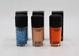 MAC STUDIO Nail Lacquer Nail Polish MANY COLORS LOTE OF 4 | eBay
