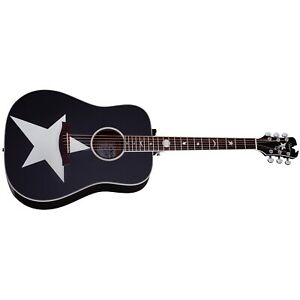 Schecter 282 Robert Smith RS-1000 Stage Acoustic Guitar, Solid Spruce Top