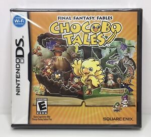 Nintendo DS Final Fantasy Fables: Chocobo Tales Brand New Factory Sealed