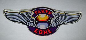 Bally-PARTY-ZONE-Original-NOS-Pinball-Machine-Promo-Plastic-Flight-Wings-1991