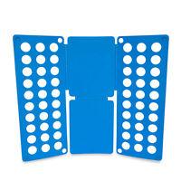 Clothes T-shirt Folder Adult Magic Folding Board Flip Fold Laundry Organizer Bl