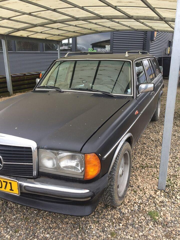 Mercedes 240 2,4 D stc. aut. Diesel aut. aut. modelår 1983 km