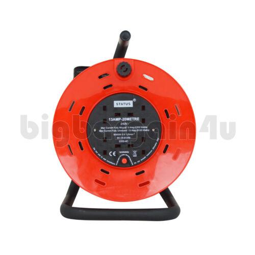 fils d/'extension Bobines électriques Adaptateurs 1//2//4//6//10 Way 2m//3m//5m//10m//25m