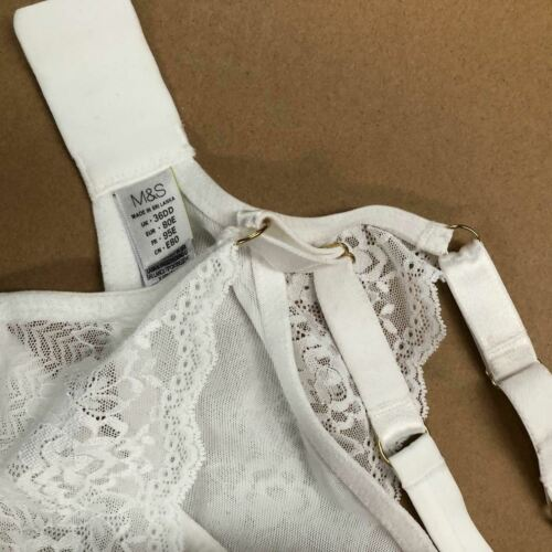 White AU18C 40CSmoothlines Underwired T-Shirt Balcony Bra W2032