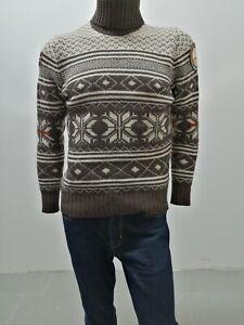 Maglione-NAPAPIJRI-Uomo-Sweater-Man-Pull-Homme-Taglia-Size-M-Maglia-Lana-8268