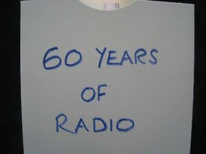 Marconi History of Radio 1922-1982 Cd/vintage wireless