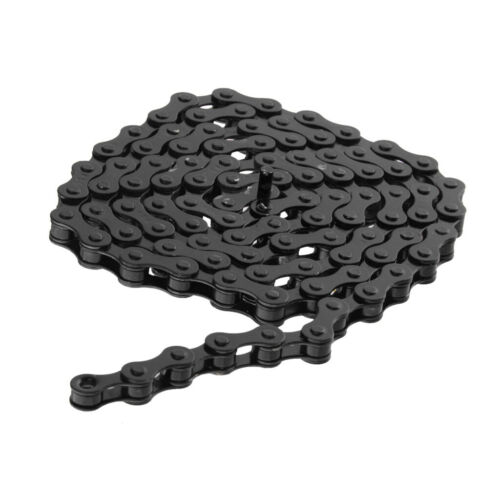 "Bicycle Chain Fixed Gear Track BMX Bike Single Speed Chain 1//2/"" x 1//8/"" Black"