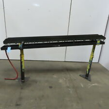Small Parts Gravity Roller Conveyor 5 Wide X 82 Long Incline Withdrip Pan