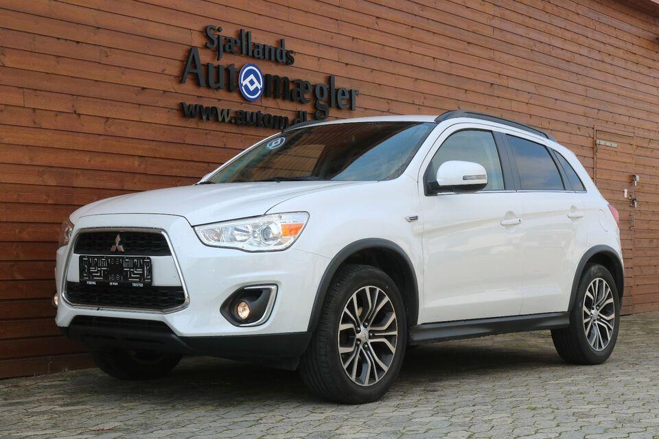Mitsubishi ASX 1,6 Invite Benzin modelår 2015 km 72000 Hvid