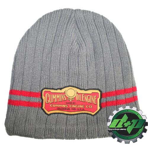 cummins engine dodge beanie stocking hat ski cap toboggan cummings winter