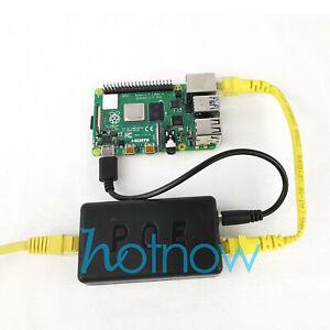 5V 3A 4A Gigabit Raspberry Pi 4 4B Active PoE Splitter USB TYPE C Ethernet