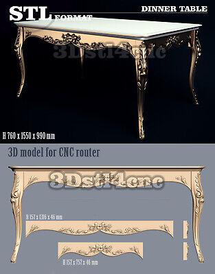 6 3D STL Models Luxury Bench Sofa for CNC Router Carving Machine Artcam aspire
