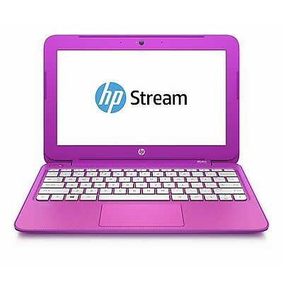 HP Stream 11-D009NA 11.6 Inch Intel 2.16GHz  2GB 32GB Windows 8 Laptop - Magenta