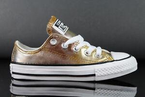 Sonderabschnitt Neu Converse Chuck Taylor All Star Mädchen Kinder Canvas Sneaker 357655c Diversifiziert In Der Verpackung