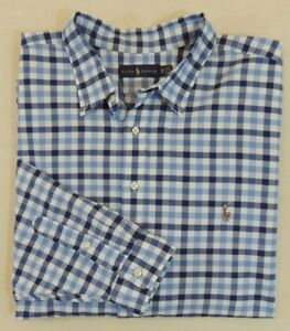 83f37fe9475b Polo Ralph Lauren Pony Button Down Classic Oxford Gingham Plaid ...
