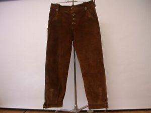 Hochwertige Trachtenhose Lederhose von 1886 Ulpen Trachten in Gr. 36