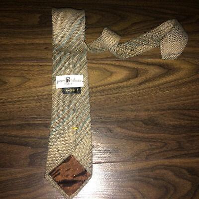 Herren-accessoires Konstruktiv Pierre Balmain Paris Designer Pure Wool Tie Neck Tie Handmade In Italy 7cm ZuverläSsige Leistung