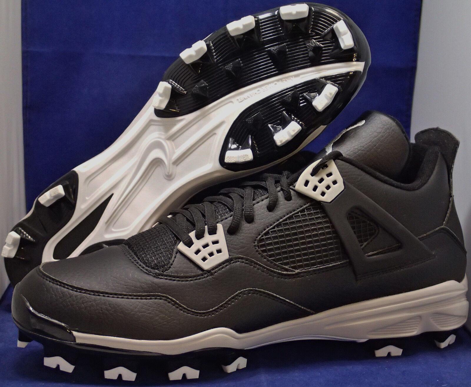 nike air jordan iv 4 rétro mc oreo de chaussures de baseball réduction de oreo prix marque discount ed6ec5