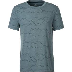 McKinley Herren Freizeit-Outdoor-Wander-T-Shirt Rago UX blue petrol