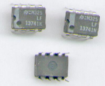 3x  LF13741 N   J-FET  OP  IC  DIL8   Fabrikat : NSC
