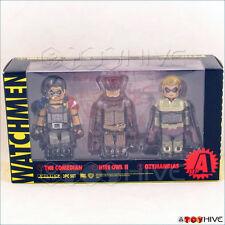 Watchmen Kubrick Medicom Set A 3 figure box set Comedian Nite Owl and Ozymandias