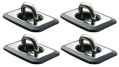 BULL RING HEAVY DUTY SS RETRACTABLE TIE DOWN SYSTEM 4003 2 PAIR
