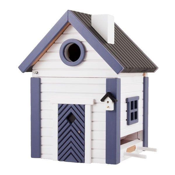 Wildlife Garden nidificación casita y forrajes casa Multiholk seeschuppen