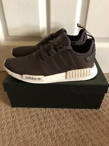 quality design 8537e 0bec4 Details about Men's adidas NMD Runner R1 Casual Shoes Urban Trail/Chalk  White AC7064 BNW