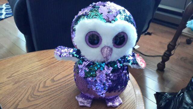 owl Ty Beanie Boos Moonlight