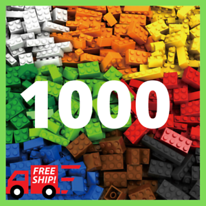 Lego-1000-Pieces-Building-Blocks-City-DIY-Creative-Bricks-Educational-Kids-Toys