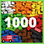 Lego-1000-Pieces-Building-Blocks-City-DIY-Creative-Bricks-Educational-Kids-Toys thumbnail 1
