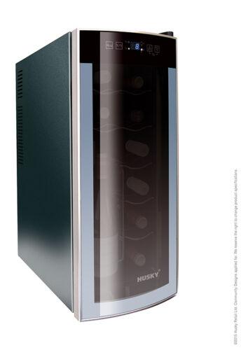 1 of 1 - Husky Slimline CounterTop Wine Cooler HUS-HN6, 12 Bottle Capacity