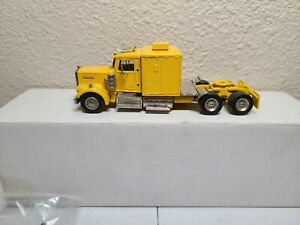 Kenworth-Tractor-with-Sleeper-Yellow-ASAM-Smith-1-48-Scale-Model-New