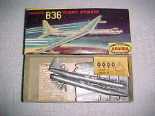 AURORA CONVAIR B-36 GIANT BOMBER 1958 FAMOUS FIGHTER ISSUE