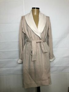 099ba52c45 NEW Ugg Women s Duffield ii Wrap Robe Oatmeal Heather Size Medium