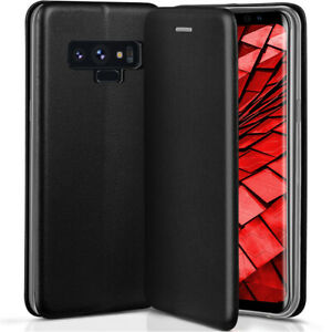 Brochure-Etui-pour-Samsung-Galaxy-Note9-Etui-Coque-Portable-360-a-Clapet