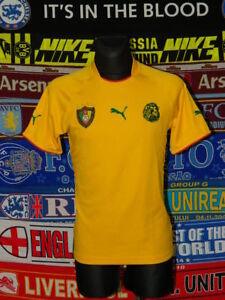 ee02d5d91b 4.5/5 Cameroon adults S 2002 away football shirt jersey trikot ...