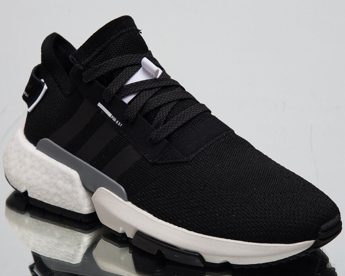 Adidas Originales POD-S3.1 hombre nuevo Negro Negro Negro Plata Tenis de estilo de vida BD7737 8bacf0