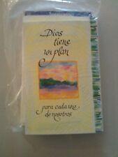 4 cards and 4 envelopes. Dios tiene un plan....                   (B16)