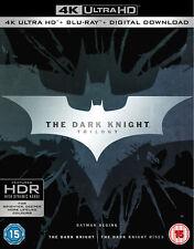 The Dark Knight Trilogy (4K Ultra HD) Christian Bale, Michael Caine