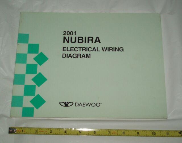 2001 Daewoo Nubira Electrical Wiring Diagram