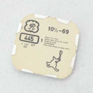 Valjoux-69-Movimiento-Parte-445-Montura-Palanca-Muelle-Relojeros-Reparaciones