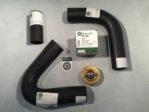 Bearmach Land Rover Serie Kühlerschlauch Satz,Thermostat 82c Oberteil Unten