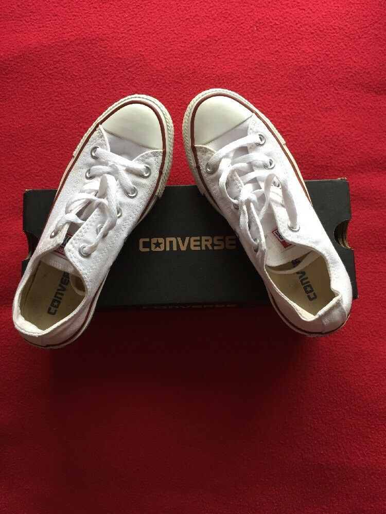 Converse All Star. White Size 3. Worn Once