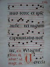 Noten Neumen Latein 1510 Johannes Täufer Antiphonar Dartmouth Hanover NH Markus
