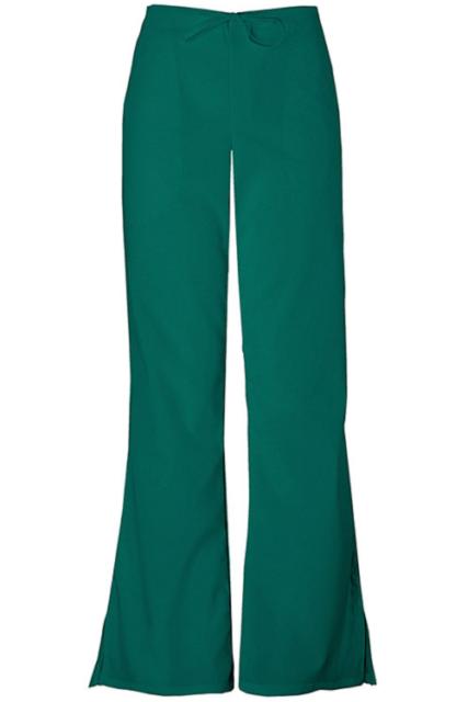 7e5368c1705 Cherokee Workwear Women's 4101 Flare Leg Drawstring Scrub Pant Large ...