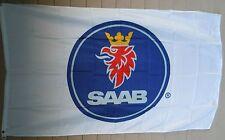 SAAB Cars 3x5 Flag Banner